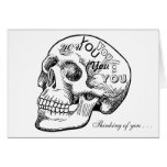 Skull With Thoughts of You
