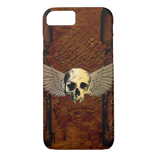 Skull with wings iPhone 7 case