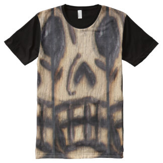 Skull Woogie All-Over Print T-Shirt