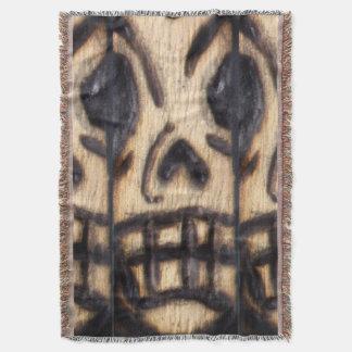 Skull Woogie Throw Blanket