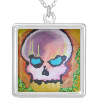 Skull Wreath Necklace