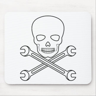Skull-X-Wrenchs Mouse Pad
