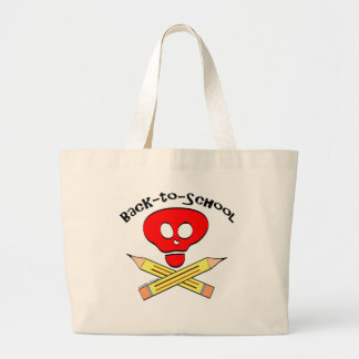 Skull xbones Back-to-School Bag