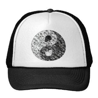 Skull Yin Yang Trucker Hats