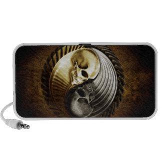 Skull Yin Yang Speaker