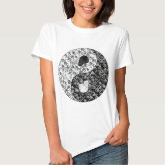 Skull Yin Yang T-shirts