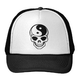 Skull Ying Yang Cap