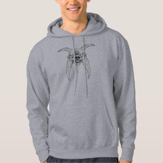 skull-zeez 4 hrons by stanthos hoodie