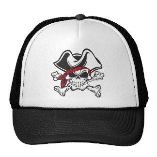 skulland cross bones pirate cap