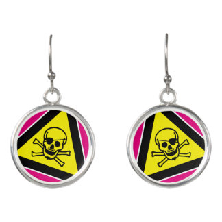 Skullface Earrings