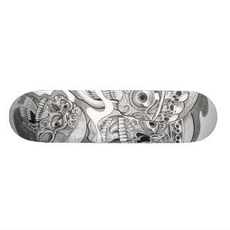 skulling skateboard decks