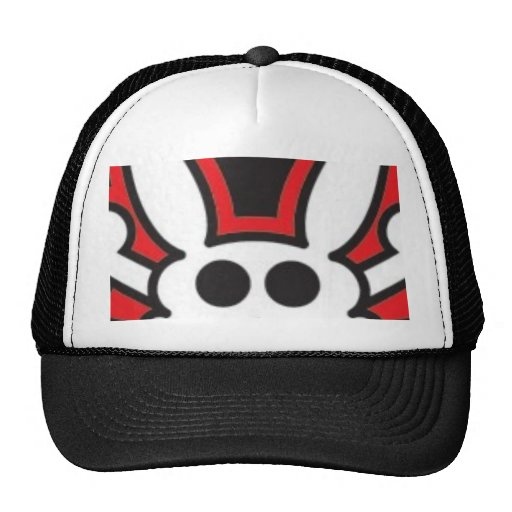 SkullLarge Mesh Hat
