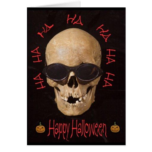 Skulloween Card