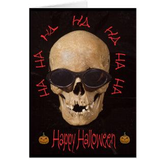 Skulloween Greeting Card