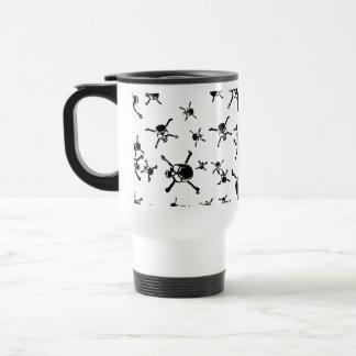 Skulls 2 coffee mugs