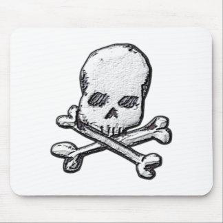 Skulls and Cross Bones Mouse Pad