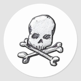Skulls and Cross Bones Sticker
