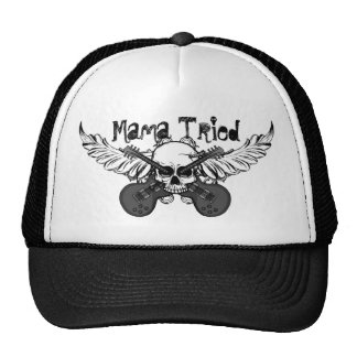 Skulls and Guitars Hat Mama Tried
