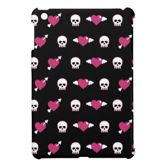 Skulls and hearts case for the iPad mini