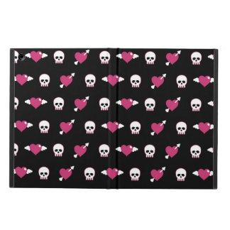 Skulls and hearts iPad air case