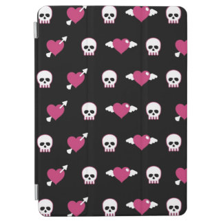 Skulls and hearts iPad air cover