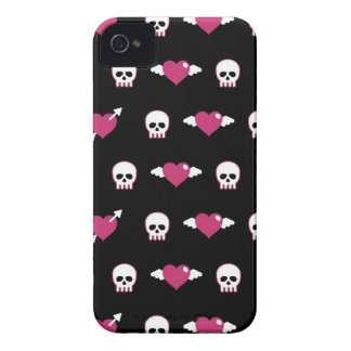 Skulls and hearts iPhone 4 cases