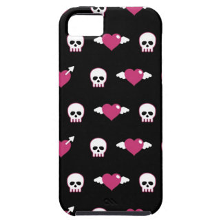 Skulls and hearts iPhone 5 case