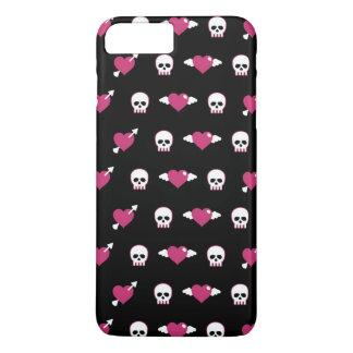 Skulls and hearts iPhone 8 plus/7 plus case
