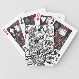 Skulls and Meat Heads Deck Of Cards