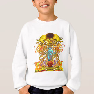 Skulls and octopus sweatshirt