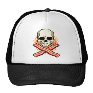 Skulls & Bacon Logo Hat