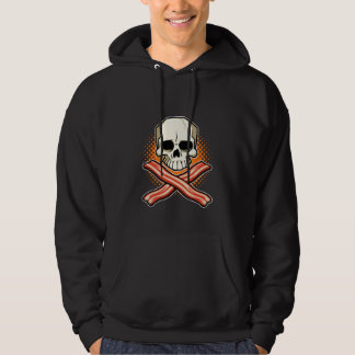 Skulls & Bacon Logo Hoodie