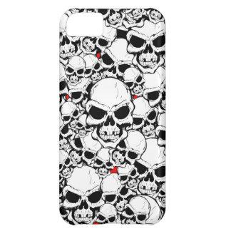 SKULLS CASE FOR iPhone 5C