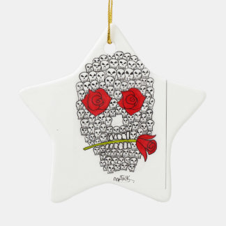 skulls christmas ornament