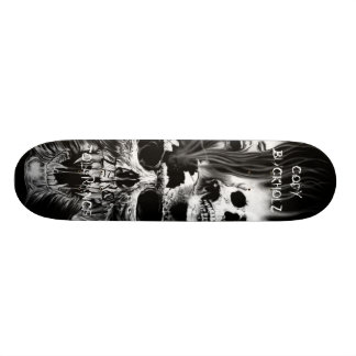skulls, CODYBUCKHOLZ, ZERO, TOLERANCE Skate Board Deck