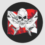 Skulls Collection by DiversDen Sticker