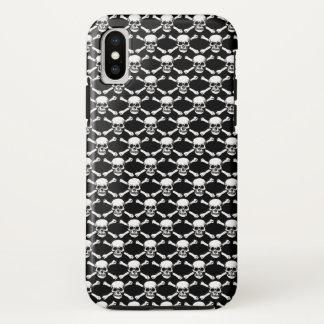 Skulls Crossbones iPhone X Case