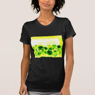 Skulls Green Yellow Tees