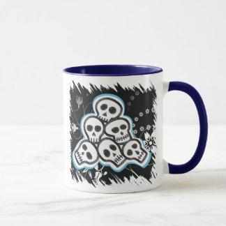 Skulls Halloween Mugs