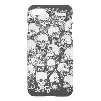 Skulls illustration iPhone 7 case