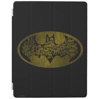 Skulls in Bat Symbol iPad Cover