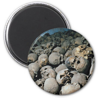 Skulls in Mount Sinai, Middle East Refrigerator Magnets
