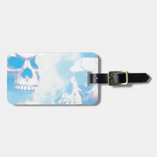 Skulls in the Clouds Luggage Tag