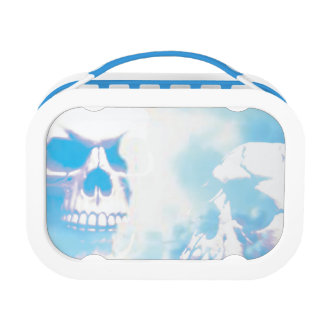 Skulls in the Clouds Lunch Box