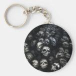 Skulls-Keychain/Schlüsselanhänger