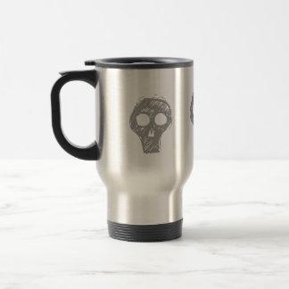Skulls Stainless Steel Travel Mug