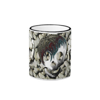 Skulls Ringer Mug