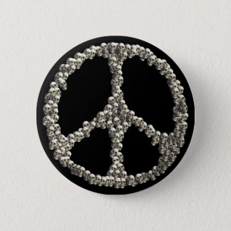 Skulls Of Peace 6 Cm Round Badge