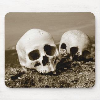 Skulls on the Punuk Islands shore, Bering Sea Mouse Pad