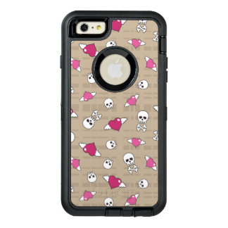 Skulls OtterBox Defender iPhone Case